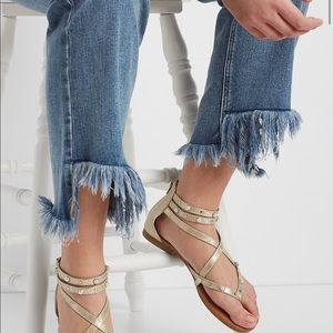 Silver Jeans Co.®  crop with frayed step hem